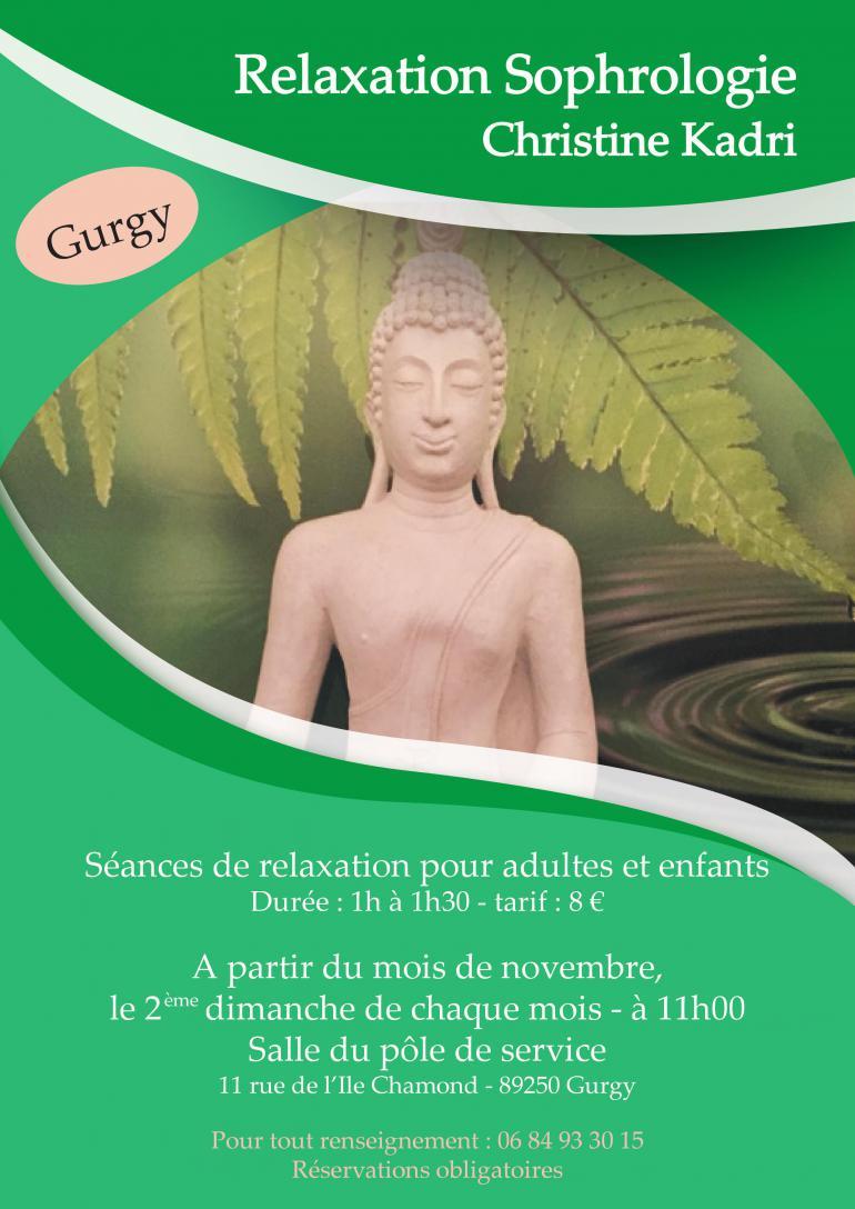 Relaxation Sophrologie - Christine Kadri