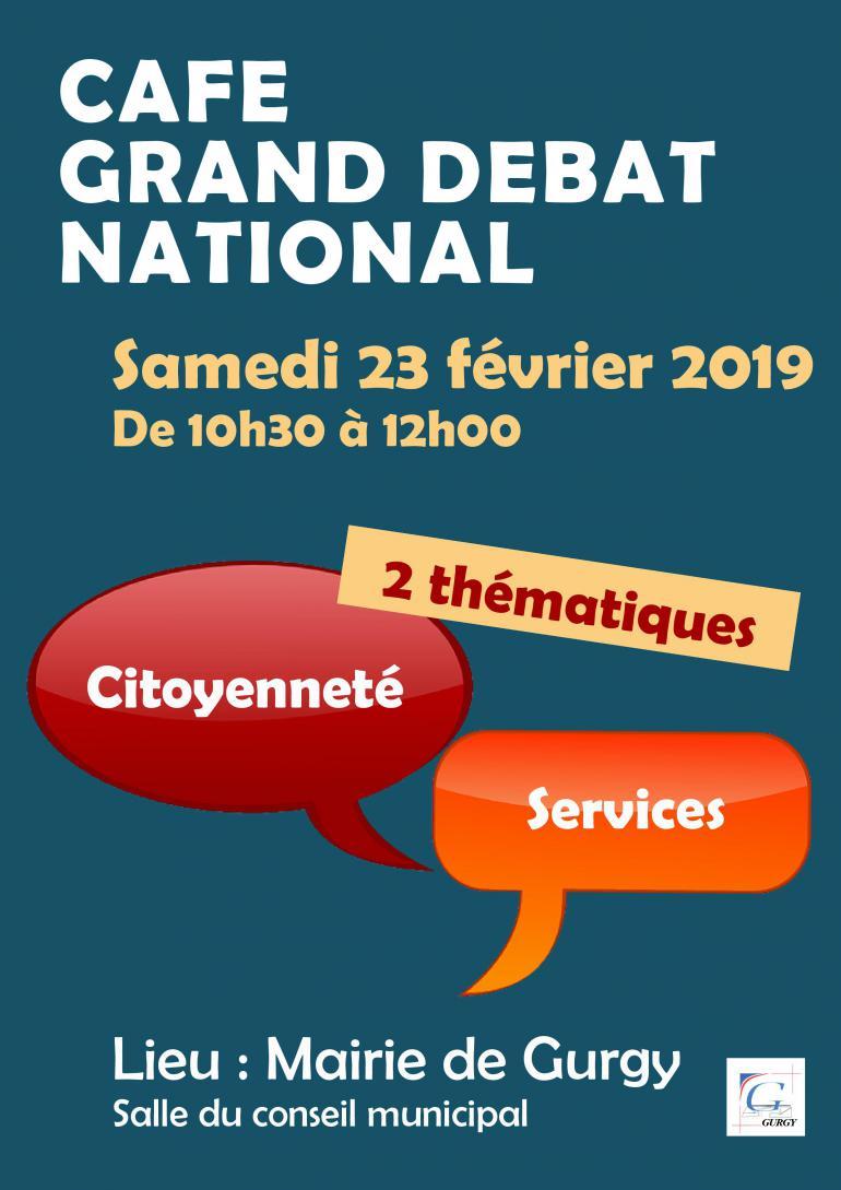 Café grand débat national