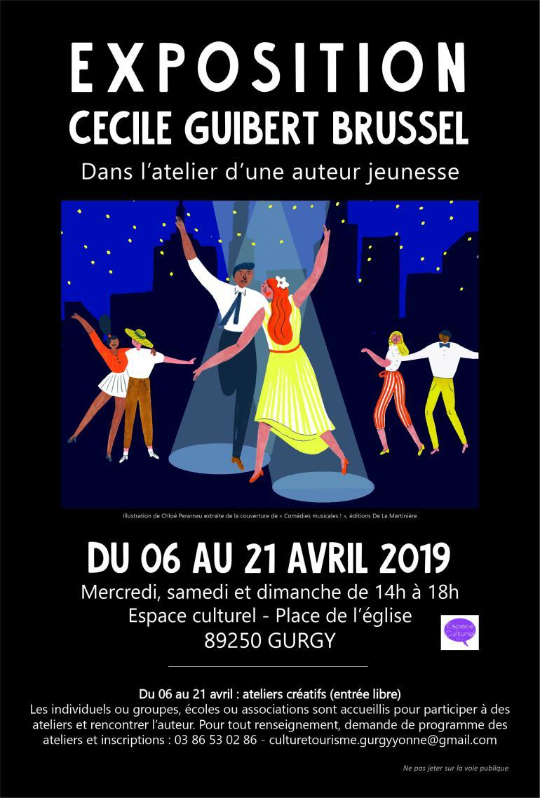 Exposition de Cécile Guibert Brussel