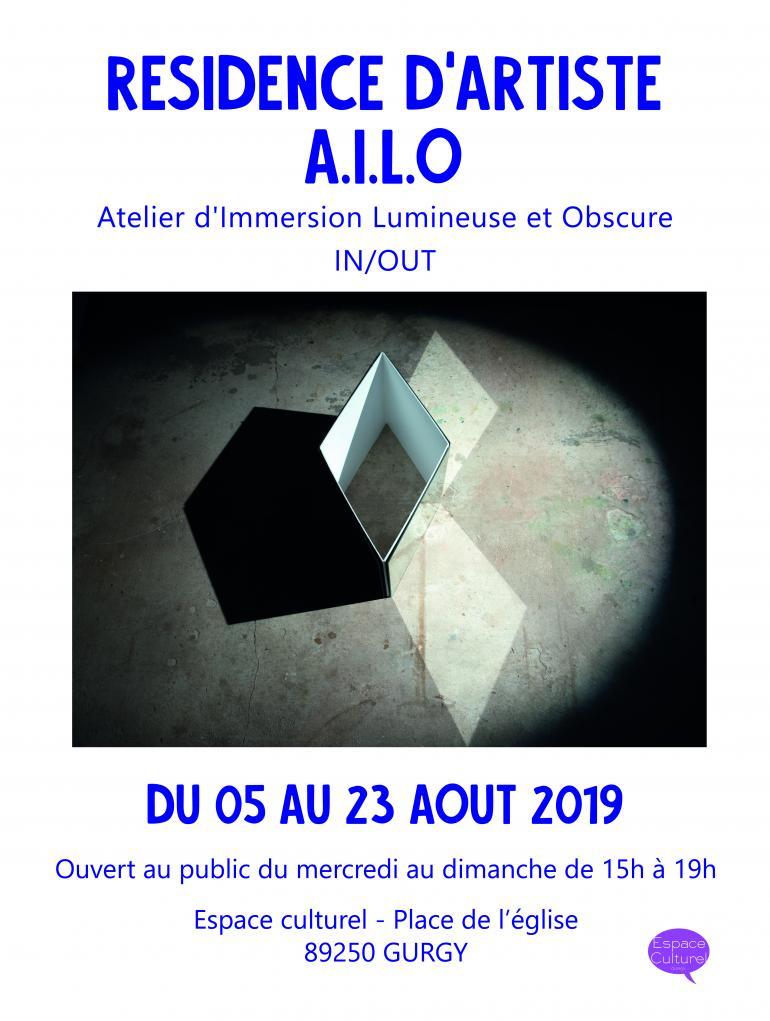 Résidence d'artiste - A.I.L.O