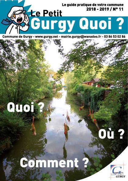 Le Petit Gurgy Quoi ? n°11 est arrivé.                                  Téléchargez-le au format .PDF