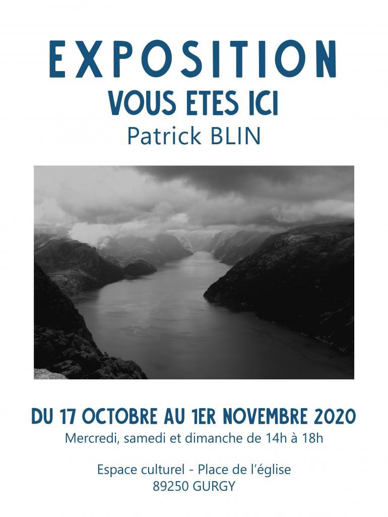 Exposition photos de Patrick Blin