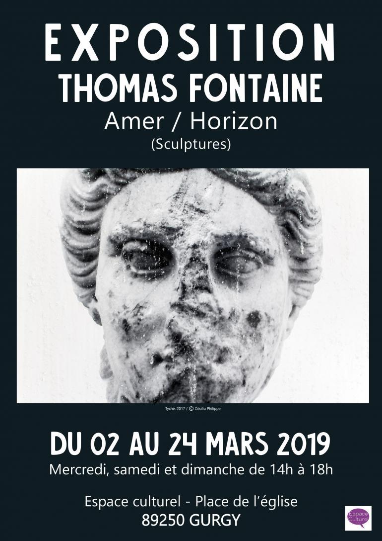 Exposition Amer / Horizon de Thomas Fontaine