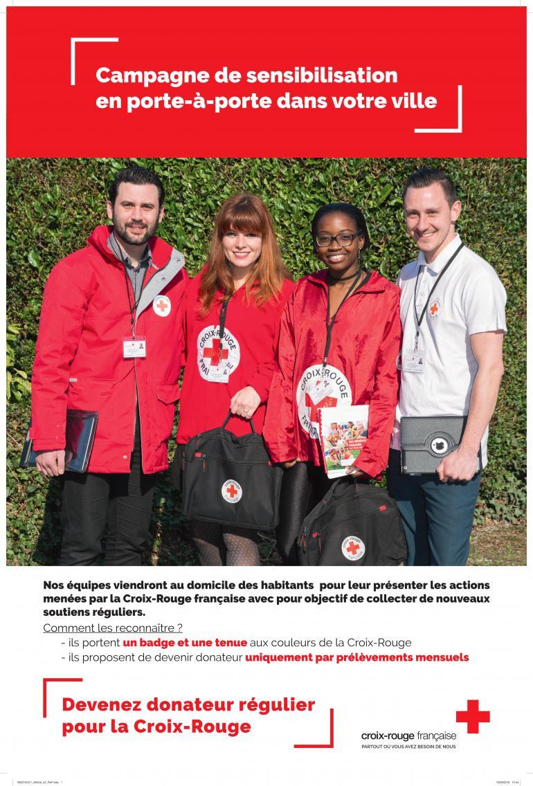Campagne de sensibilisation - La croix rouge