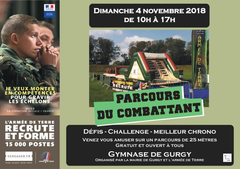 Parcours du combattant - dimanche 4 novembre 2018