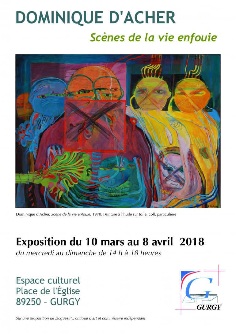 Exposition Dominique d'Acher