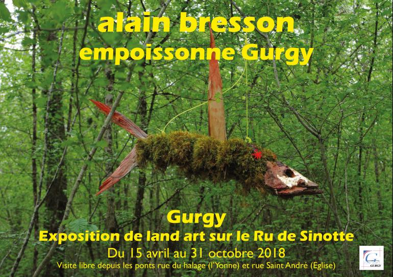 Exposition de land art -