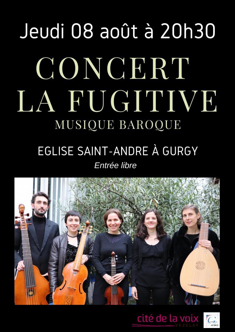 Concert la Fugitive