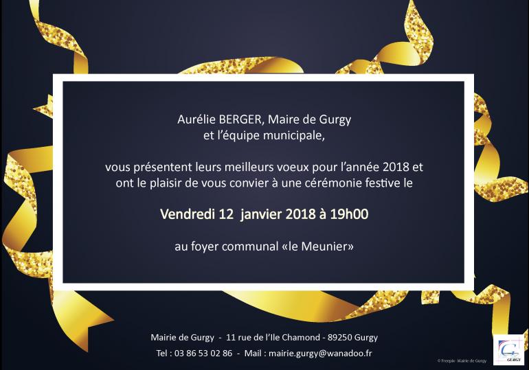 Vœux de la municipalité - 2018