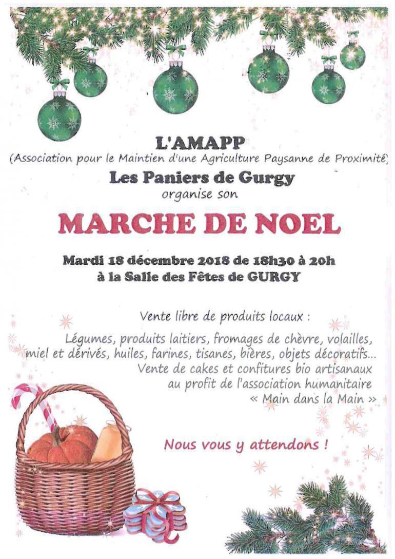 Marché de noël - L'AMAPP