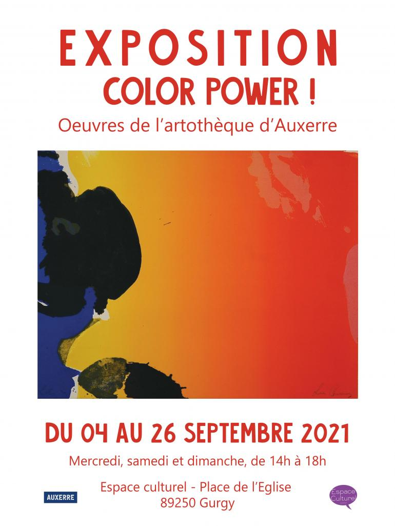 Exposition Color Power !