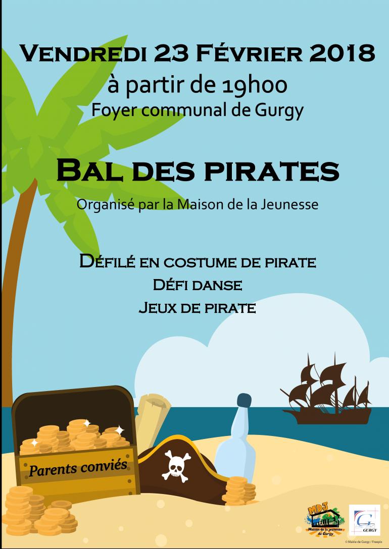 Bal des pirates organisé par la MDJ