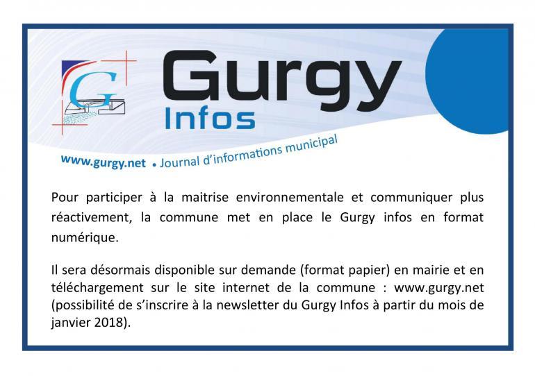 Le Gurgy Infos passe en format numérique