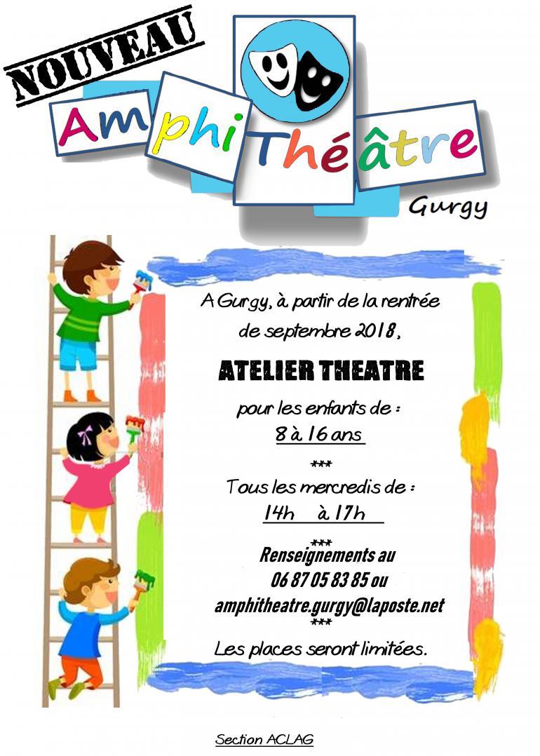 Association Amphithéâtre - Atelier théâtre pour les enfants