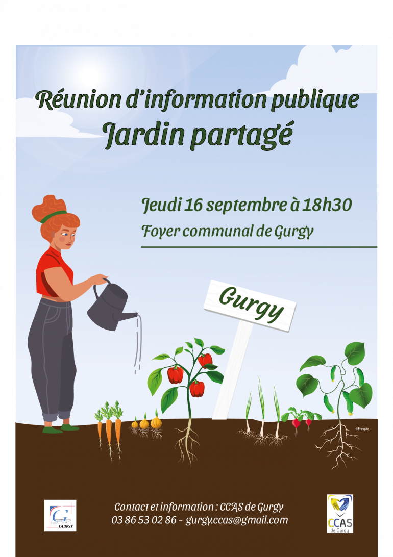 Réunion publique d'information - jardin partagé