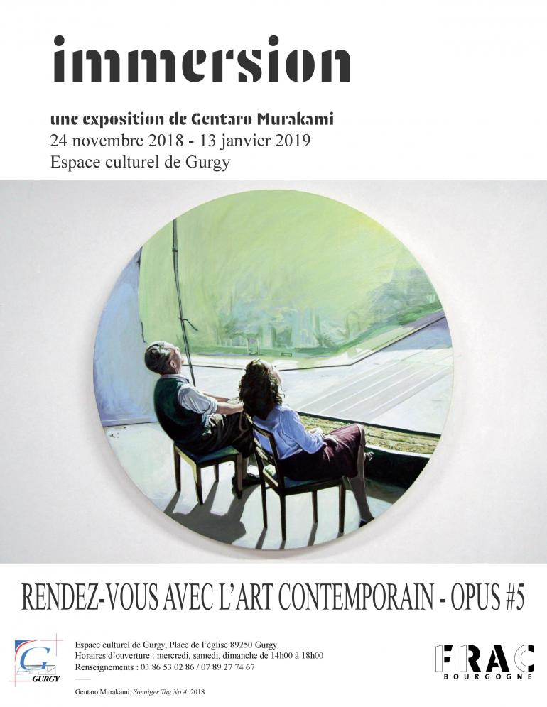"Exposition Gentaro Murakami ""immersion"""
