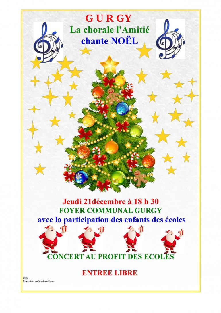 La Chorale de l'Amitié chante Noël