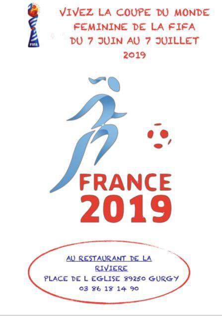 Diffusion des matchs de la coupe du monde de la FIFA - Restaurant de la rivière
