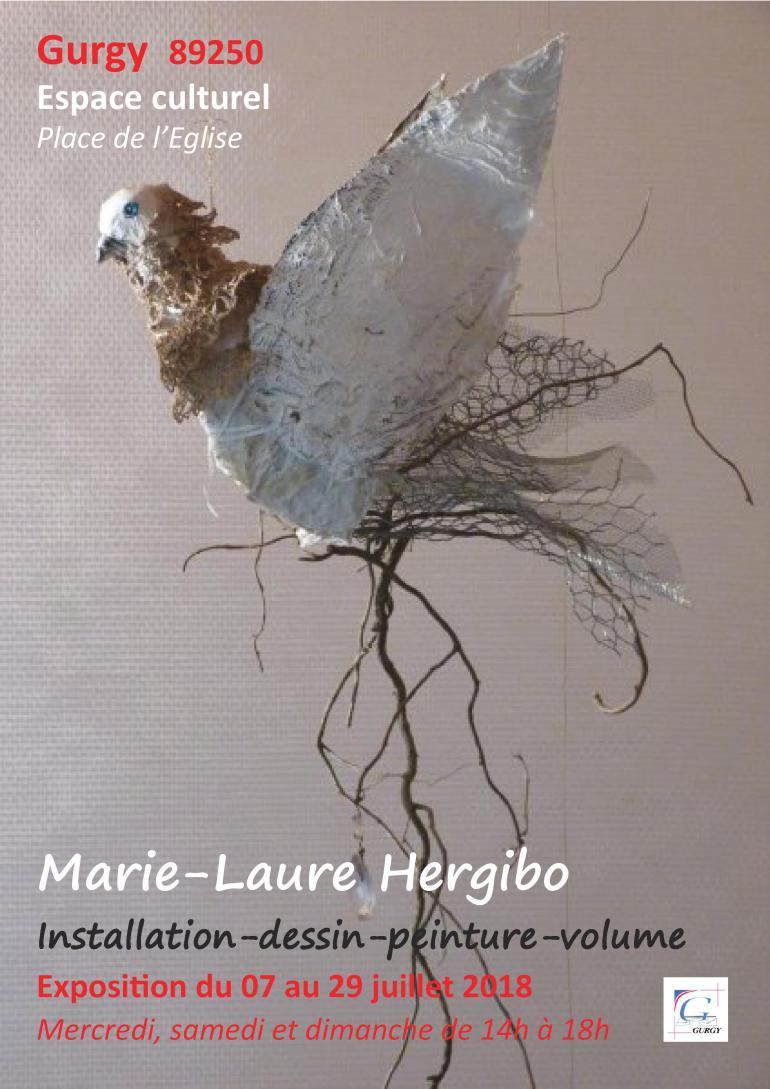 Exposition de Marie-Laure Hergibo