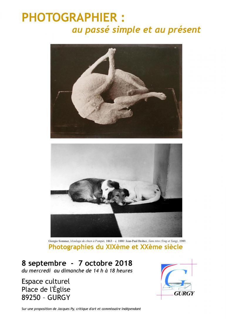 Exposition : Photographier au passé simple et au présent