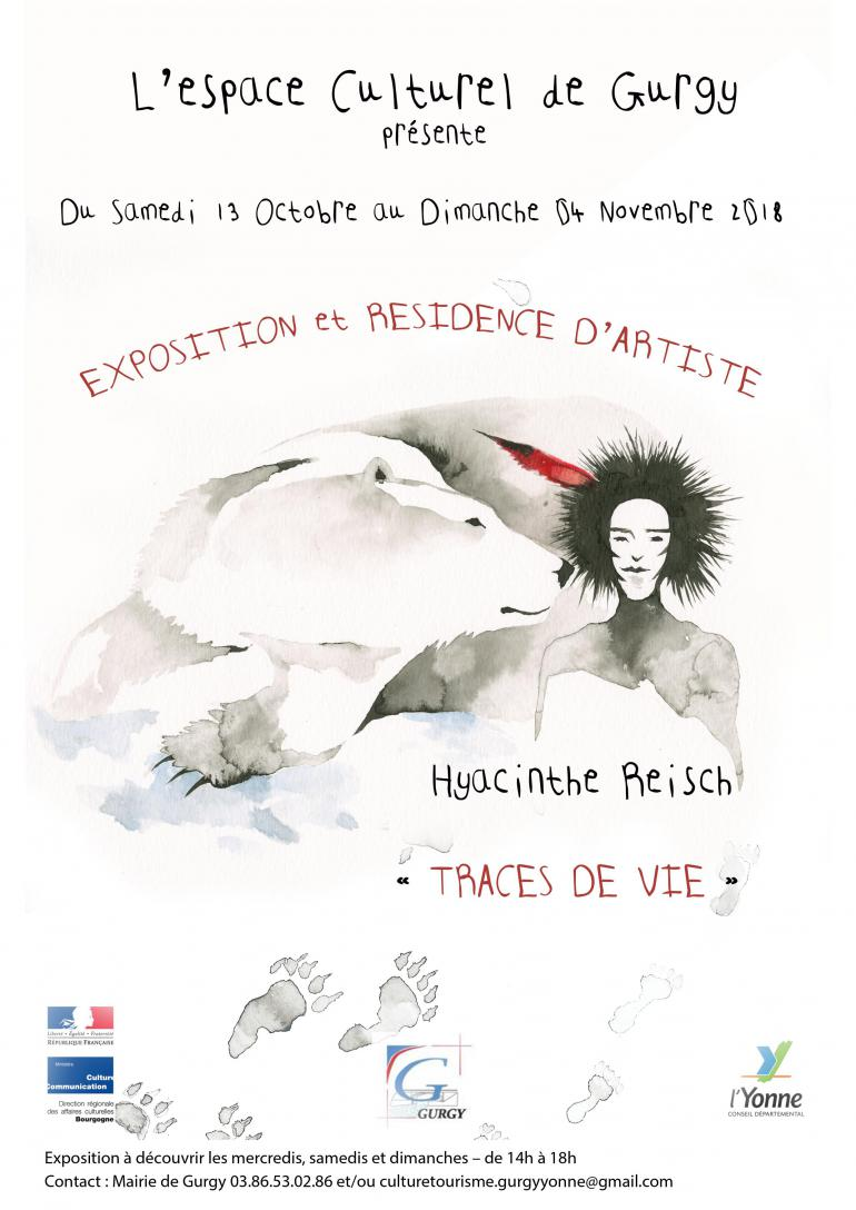 Exposition et résidence Hyacinthe Reisch - Espace culturel